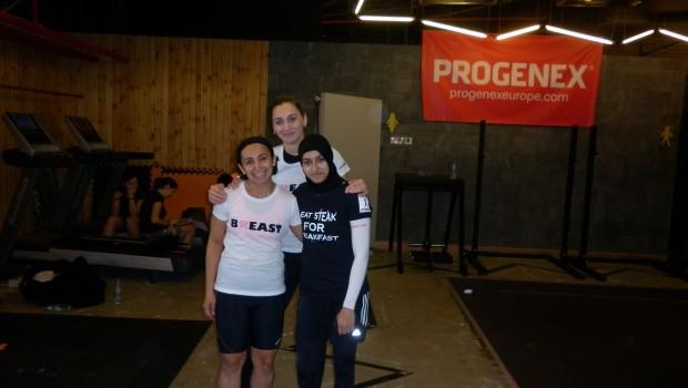 Nazli, Natalia , and Me.