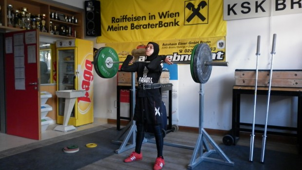 Training two days before competition