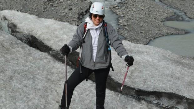 In Alaska, Glacier Hiking